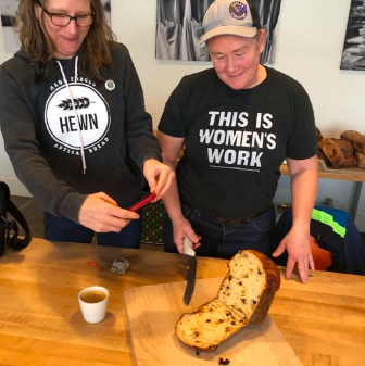 Unity House Food Security Manager Amy Halloran speaks with Mel Darbyshire from Grand Central Bakery about baking, work, and noticing women's innovations in grains.