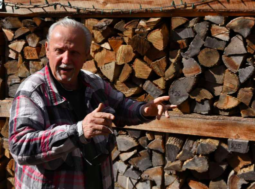 Lou WILTON of Lou's GOURMET Fire wood Talks about his business of 30 years and how he makes a difference providing energy to the North country