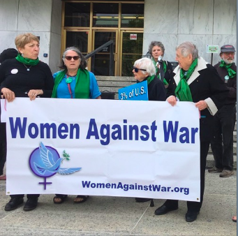 Women Against War held a news conference on May 6th to address the issue of how much New York State taxpayers are forced to pay for the military.