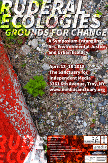 Event poster for Ruderal Ecologies